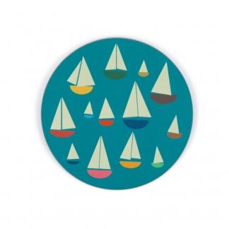 sail boat coaster